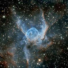 Thor's Helmet NGC 2359