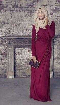 Nice hijab gown dresses ideas,muslim fasshion