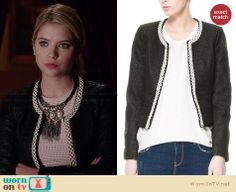 Hanna's pink eyelet dress and wide white belt on Pretty Little Liars.  Outfit Details: http://wornontv.net/34018/ #PLL