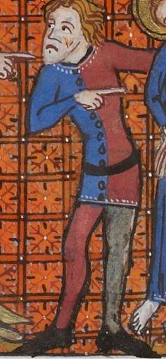 Vincent de Beauvais, Speculum historiale, traduction française par Jean de Vignay. vol. III. (Livres XI-XIII).  Date d'édition :  1370-1380  NAF 15941   Folio 82v