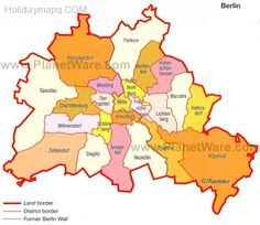 nice Map of berlin