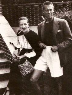Diana Vreeland and Reed Vreeland