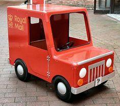 Postman Pat Pedal Car