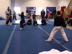 Eight year old Bobby showing outstanding sportsmanship at the 2011 Standale Karate Championship.