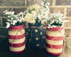 17 Patriotic DIY Veterans Day Decoration Ideas You Can Use As Gifts (:Tap The LINK NOW:) We provide the best essential unique equipment and gear for active duty American patriotic military branches, well strategic selected.We love tactical American gear Veterans Day Celebration, Veterans Day Gifts, Honor Veterans, Mason Jar Vases, Mason Jar Crafts, Patriotic Bedroom, Dream Cars, American Flag Painting, Army Decor