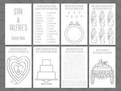 wedding activity book coloring kids color book34 jennies wedding pinterest wedding activities kids colouring and activities - Wedding Coloring Book