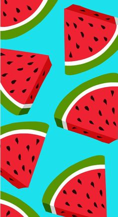 Food wallpaper, wallpaper for your phone, watermelon wallpaper, watermelon background, inspirational wallpapers Cute Wallpaper Backgrounds, Pretty Wallpapers, Cool Wallpaper, Iphone Wallpaper, Kawaii Wallpaper, Summer Wallpaper, Cute Patterns Wallpaper, Screen Wallpaper, Wallpapers Android