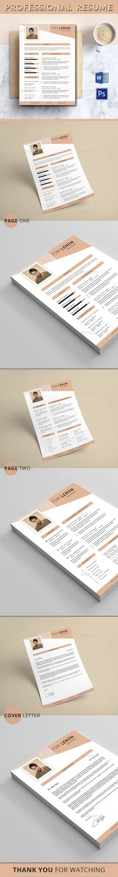 Professional #Resume - Resumes #Stationery