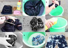 Easy DIY !Trendy Bleach Jeans :)