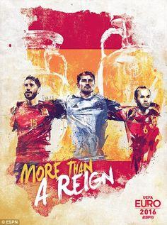 España: Sergio Ramos, Iker Casillas y Andrés Iniesta / más que un reinado - Florian Nicolle
