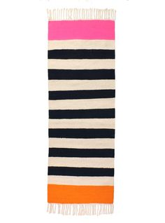 Striped runner rug designed by kira-cph.com