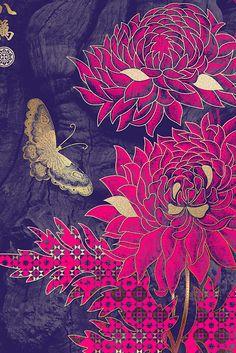 Contemporary Asian patternwork
