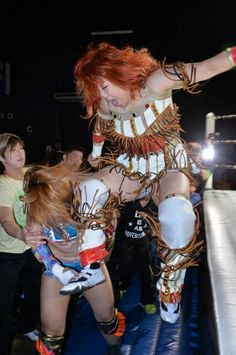 Kaori Yoneyama- Japanese Female Wrestling