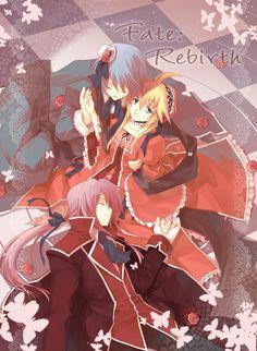 len kaito gakupo vanaN'ice Fate:Rebirth