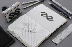 Alter Edit : Identity Design on Behance Graphic Design Print, Graphic Design Branding, Typography Design, Business Card Design Inspiration, Logo Inspiration, Corporate Identity Design, Brand Identity, Behance, Monogram Design