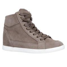 HAERAWIEL wedge sneaker from ALDO. So casual and look cute!