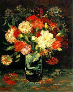 nataliakoptseva: Vase with Carnations Vincent van Gogh