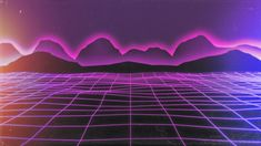 Nervewax Grid Remix by redheadsoldier on DeviantArt Aesthetic Backgrounds, Aesthetic Wallpapers, Colorful Backgrounds, Sky Aesthetic, Purple Aesthetic, 80s Synth, Cyberpunk Games, Cyberpunk Aesthetic, Internet Art