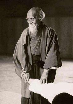 Morihei Ueshiba. 20th century's best.