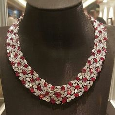 Ruby and diamonds