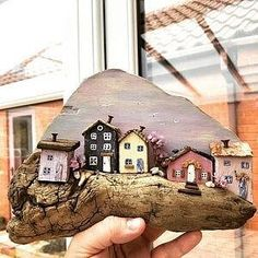 Wood Key Rack Nautical Decor Key Hanger Coastal Decor Key Holder Wooden Key Hanger Wooden Wall Hook Handmade Wooden Gift Miniature House - Tax Tutorial and Ideas Cottage In The Woods, Rustic Cottage, Cottage Style, Cottage Art, Wooden Gifts, Handmade Wooden, Wooden Decor, Small Wooden House, Wooden Houses