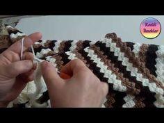 Bebek Battaniyesi Örgü Modeli,Renkli İlmekler - YouTube