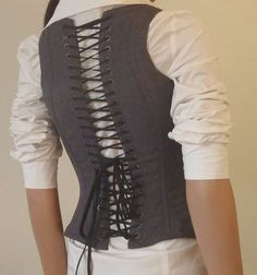 DIY: Corset for the Business Professional (View 1)