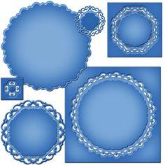 Spellbinders - Nestabilities Collection - Die - Majestic Elements - Majestic Circles at Scrapbook.com