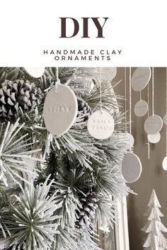 Learn how to make hand made personalized Christmas ornaments.