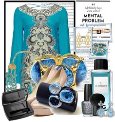 """Blue Valentine..."" by paca86 on Polyvore"