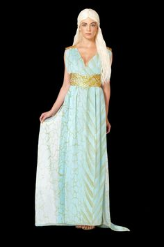 'Game of Thrones' costumes Daenerys Qarth Image Credit: Spirit Halloween  via @AOL_Lifestyle Read more: http://www.aol.com/article/2014/12/19/an-easy-and-delicious-recipe-for-homemade-eggnog-chai-lattes/21119191/?a_dgi=aolshare_pinterest#fullscreen