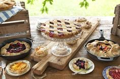Pie Station - All homemade and from scratch! #piestation