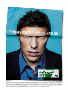 I Believe in Advertising | ONLY SELECTED ADVERTISING | Advertising Blog & Community » Nycomed Kodimagnyl: Headache