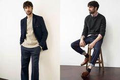 White Stuff Autumn/Winter 2017 Men's Lookbook   FashionBeans.com Winter 2017, Fall Winter, Autumn, Aw 2017, White Stuff, Suits, Men, Collection, Style