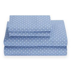 Tommy Hilfiger Chambray Dot 180 Thread Count Sheet Set