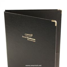 Bonded Leather Guest Room Folders - The Smart Marketing Group - Hospitality. Sable and black guest room presentation and welcome folders for hotel and hospitality. Leather Folder, Hotel Guest, Bonded Leather, Guest Room, Presentation, Valentines, Hospitality, Menu Covers, Group