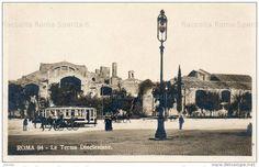 Le Terme di Diocleziano Anno: 1903 Taj Mahal, 1990, Ponti, Street View, Building, Travel, Antique, Tower, Viajes