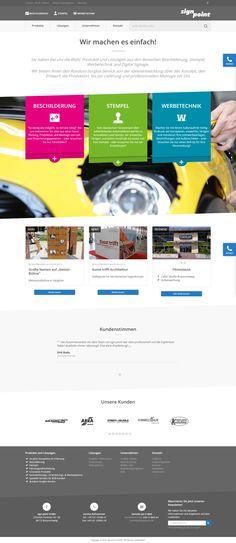 signpoint.de - Responsive Website Relaunch mit dem CMS webEdition und auf Basis Bootstrap.