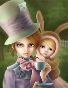 Mad Hatter and the March Hare