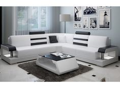 Silviano Modern L-Shaped Leather Sofa – Sofa Design 2020 Sofa Set Designs, L Shaped Sofa Designs, Modern Sofa Designs, Modern Design, Corner Sofa Design, Living Room Sofa Design, Bed Design, Living Room Designs, Sofa For Living Room