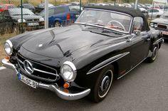 Mercedes Benz W121 B II 190 SL by Henrik S., via Flickr