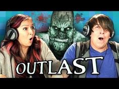 These are hilarious! OUTLAST: PART 1 (Teens React: Gaming) - YouTube