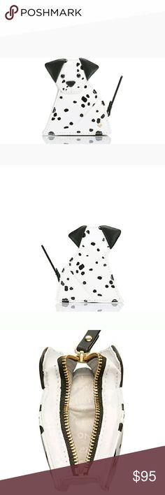 Kate Spade Origami Dalmation Coin Purse NWT Adorable, soft leather dalmation coin purse. I have the handbag on another listing in my closet! Mine are still in the factory packaging and have only been taken out to inspect them when I first received them. No, I did not buy these on sale, so the price listed is FIRM!! kate spade Accessories