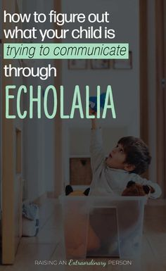 Echolalia is not meaningless. See this guide of communicative intent related to echolalic speech to help figure out what your child is communicating. Autism Help, Autism Learning, Autism Activities, Therapy Activities, Autism Education, Therapy Ideas, Autistic Children, Children With Autism, Autism Articles