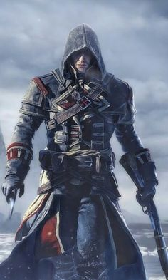 hen is the Assassin's Creed Ragnarok release date? Supposedly, the game will be out this autumn and is set around 800 BC, with a map that includes large parts of Scandinavia and the British Isles. Assassin's Creed Videos, Assassin's Creed Black, Asesins Creed, Assassin's Creed Wallpaper, Hd Wallpaper, Assassins Creed Rogue, Marvel Comics Superheroes, Templer, Game Character Design