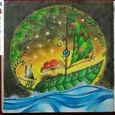 Lindo! By @fernanda_ssenna ・#florestaencantada #desenhoscolorir   #lostocean #esrarengizbahçe  #esrarengizbahce   #enchantedforest