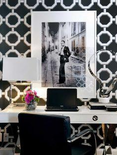 Home Decor Contemporary Home-office. ホームオフィスのインテリアコーディネイト実例