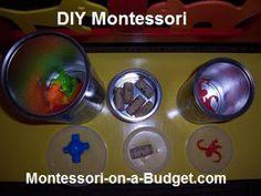 DIY Montessori Activities, from Montessori on a Budget blog.