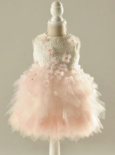 adcdaa944a7 Communion Dresses 2017, Girls First Communion Dresses, Pink Flower Girl  Dresses, Lace Flower