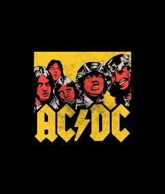 ACDC Vector Band T Shirt For Men Women For Men Women Graphic Tees is your new tee will be a great gift for him or her. ACDC Vector Band T Shirt Hard Rock, Rock Band Posters, Band Wallpapers, Photo Wall Collage, Music Covers, Woodstock, Rock Art, Rock N Roll, Cover Art